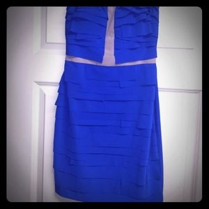 Gianni Bini Strapless Mini Dress